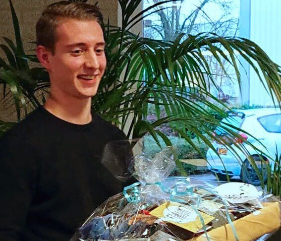 Luc van der Sluis stagiaire bij AKOS